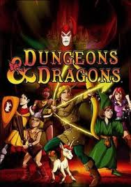 Dungeons And Dragons DVD Boxset Art