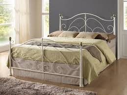 Amazon Uk King Size Headboards by Birlea Milano Bed Metal Cream Small Double Amazon Co Uk