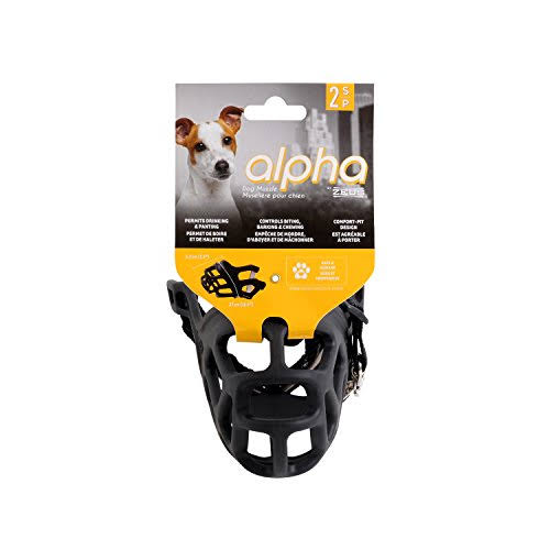 Alpha By Zeus Dog Muzzle - Small, Size 2