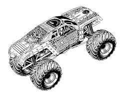 Monster Jam MaxD Truck Coloring Pages PagesFull