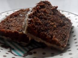 kuchen saftiger kaffee nuss kuchen