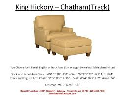 King Hickory Chatham Chair - Track Arm Modern Leg You Choose ... Barnett Fniture King Hickory Winston Bartlett Home Furnishings Store Tn Accent Chairs And Ottomans W010 Francis Brinsmade Chair Bentley Sofa Living Room Fabric With Panel Arm Blackbrown Floral Ottoman Round Coastal By Universal 3839 Pebble Athens 79 Off Abc Carpet Cisco Brothers
