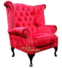 High Back Red Chair Chesterfield Velvet Queen Wing Chair Plush Red ... Shop Silver Orchid Hayworth 45 Tufted High Back Red Velvet Accent Cheap Chair Find Deals On Line At Alvi Highback West Elm Canada Living Room Chairs Celebrity Rooms Costway Race Car Style Bucket Seat Office Desk French Balloon Throne 2 Avail Reproduction Antoine Fabric Armchair Habitat Chesterfield Wing Chair Ftstool Designersofas4u Gym Equipmentliving Ding Set Of 6 For Sale Pamono Windaze Button Cushioned