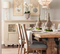 Rustic Beach Cottage Decor Dining Room Style With Table Sets Wood Di