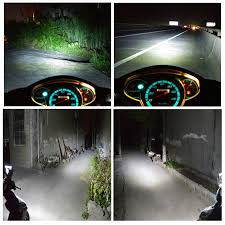 car styling h4 motorcycle headlight led moto ph7 h6 led headlight