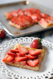 tarte aux fraises pate feuilletee ide recette pate feuillete cool ide recette pate feuillete with