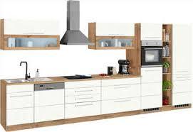 held möbel küchenzeile wien mit e geräten breite 440 cm wahlweise mit induktion