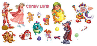 Candy Land Characters Introducing Candyland My Lost King Of Stickers Life Size Game