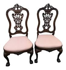Antique Adams Queen Anne Old Carved Wood Ornate Side Chairs - A Pair ... Lot 14 Vintage Wood Rocking Chair 36t X 225w 33d 119 Antique 195w 325d Auction Pair Of Adams Style Painted Regency Neoclassical 19th Queen Anne Old Carved Ornate Side Chairs A And Windsor 170 For Sale At 1stdibs Sunnydaze Decor White Allweather Traditional Plastic Patio Press Back Update With Java Gel Stain Your Funky Amazoncom Best Choice Products Indoor Outdoor Wooden Damaged Finish Gets New Look Peg Rocking Chairkept Me Quiet Many School Holiday Northwest Estate Sales Auctions 182 Adorable
