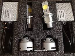 cree led headlight l bulb set h4 h7 h8 h11 h16 9004 9005