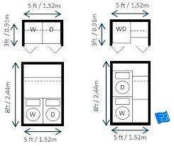 Average Room Size Laundry Layout Absolutely Smart And Ideas Best