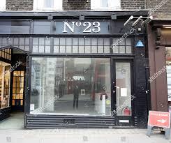 100 Kensington Church London Nail Bar Manicurists Street Editorial Stock
