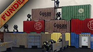 100 Modern Containers Tabletop Towns Cargo By Julian G Hicks