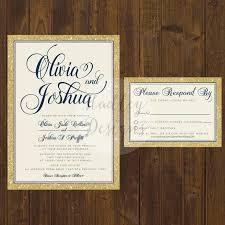 Elegant Wedding Invitations Classic Simple