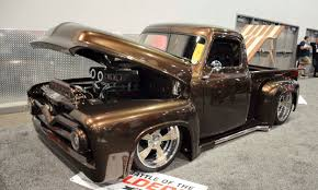 SEMA 2017: 12 Hot Trucks - » AutoNXT 1955 Ford F100 Desktop Wallpaper 16x1200 Trucks Etc Truck Pick Up F 100 Custom Cab Fseries Second Generation Wikipedia Ford Virtual Car Show Pinterest Trucks Hits All The Right Nostalgic Notes Fordtruckscom Hot Rod Network Resto Mod Pickup F1201 Louisville 2016 Street Shelton Classics Performance And Cars