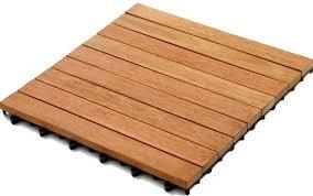 kontiki interlocking wood deck tiles real wood xl series 9 slat