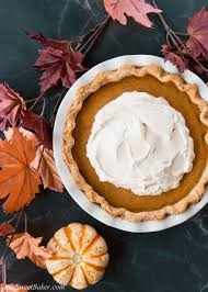 Libbys Easy Pumpkin Pie by Pumpkin Pie With Salted Caramel Whipped Cream Little