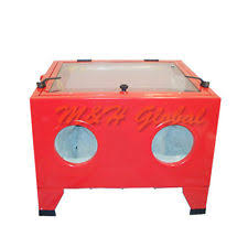 Central Pneumatic Blast Cabinet Glass by Central Pneumatic 40 Lb Capacity Floor Blast Cabinet 792363688932