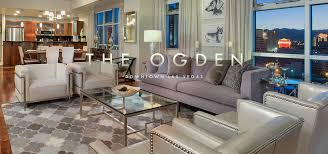 3 Bedroom Townhomes For Rent Near Me by Urban Living Luxury Downtown Condos For Sale The Ogden Las Vegas
