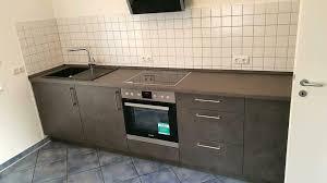 nolte küchen beton optik inkl e gerät sofort zu mitnehmen