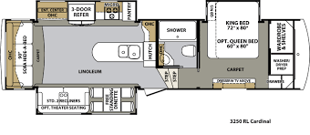 Montana Fifth Wheel Floor Plans 2004 by Forest River Cardinal Floor Plans Fifth Wheel Forest Rv Dealer