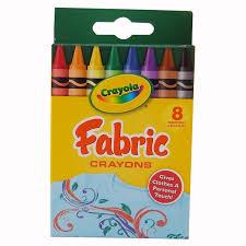 Crayola Bathtub Crayons Collection by Amazon Com Crayola Fabric Crayons 8 Count 2 Packs Toys U0026 Games