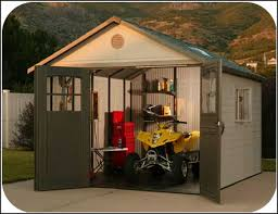 Plastic Storage Sheds At Menards by Rubbermaid Garden Sheds Home Depot Home Outdoor Decoration