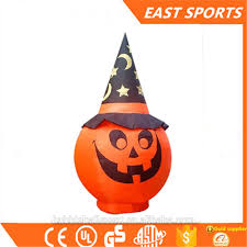 Large Blow Up Halloween Decorations by Giant Halloween Decoration Inflatable Pumpkin Giant Halloween