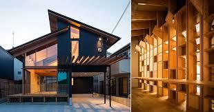 104 Home Architecture Yo Irie Architects Builds A Shelf Like Frame Inside A Japanese House To Encourage Airflow