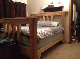 Amazing 6x6 Cedar Timber Frame Bed Custom Made By Huron Timberwerkz Orders Available