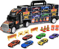 100 Matchbox Car Carrier Truck Amazoncom Click N Play Transport Rier Loaded With