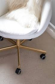 Skruvsta Swivel Chair Black by Gold Office Chair Diy Ikea Hack Home Alice Tenise