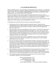 Leccion 82 Santidad Personal