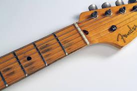 Fender Strat 1956 Cons Fingerboard Wear 1