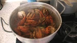 recette de cuisine matoutou de crabes de martinique