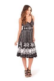 womens summer dress 100 cotton v neck floral mid length ladies