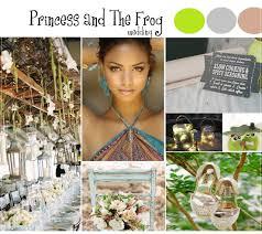 Princess And The Frog Wedding Inspiration Allinasoiree