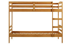 Woodcrest Bunk Beds by Pine Bunk Beds 3ft Single Wooden Pine Bunk Bed Zara 2 Mattresses