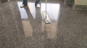Dupont Tile Sealer High Gloss by How To Apply A High Gloss Sealer For Terrazzo Flooring Youtube