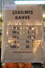 Cekilmis Kahvepricing Of Kurukahveci Mehmet Efendi Coffee By Weight Famous Turkish Do Try Out Their When You