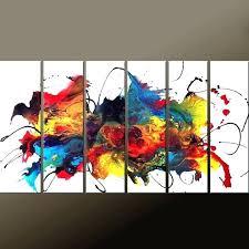 Canvas Art Multiple Paintings Best Ideas On 3 Photos