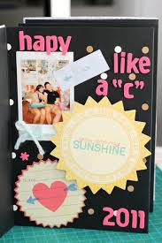 Mini Anniversary Scrapbook Album Handmade Ideas Accordion Page Layouts Gift Homemade Relationship Design Frame Creative Birthday Gifts Baby Memory Cute