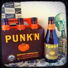 Imperial Pumpkin Ale Southern Tier by The Spooky Vegan 31 Days Of Halloween Vegan Autumn Beers