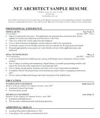 Net Resume Sample Architect Samples All Document Download Template Architecture Cv Free Sampl Templates Examples