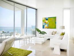 fabulous living room ideas with white snow color painting modern
