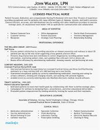 Lvn Resume Examples 23 Lpn Example