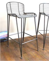 100 Modern Metal Chair Bar Stool Pair With Bar Construction Danish Era Old Style
