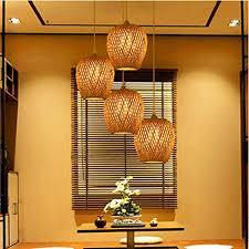 retro style laternen le bambus lenschirm wohnzimmer kronleuchter decke esszimmer bambus esszimmer essle bar coffee club einzelkopf