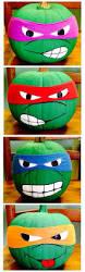 Tmnt Pumpkin Pattern Free by Clever No Carve Painted Pumpkin Ideas For Kids Ninja Turtle