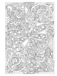 Antistress Coloring Zentangle Designs Pages Mandala